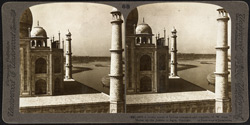 A lovely scene of Indian romance and tragedy, [looking] N.W. from Mahal up the Jumna to Agra